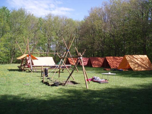 Vores lejrplads